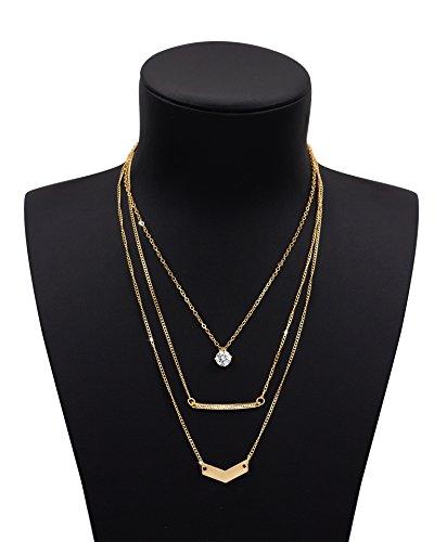 Zealmer Stunning Layering Necklace Pendant