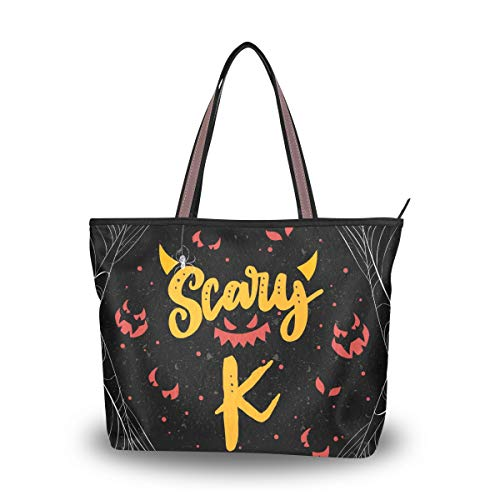 Women's Tote Bag With Scary...