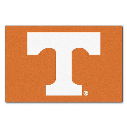 (FANMATS NCAA University of Tennessee Volunteers Nylon Face Starter Rug)