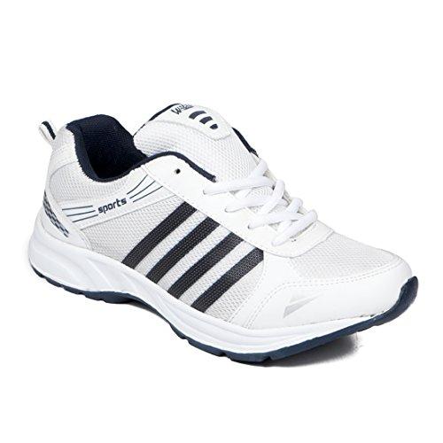 ASIAN Wonder-13 White Blue Running,Sports,Walking Shoes for Men UK-7 Price & Reviews