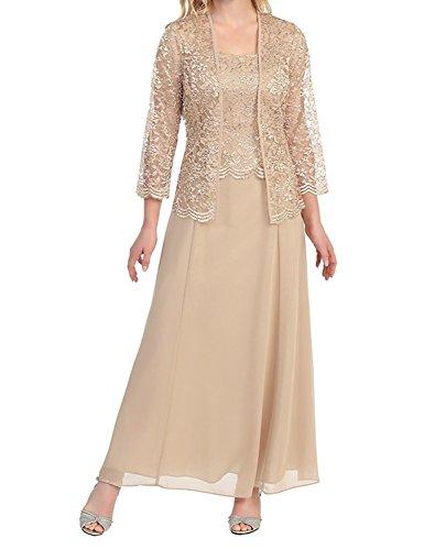 para Long Vestido mujer Stillluxury Champagne T4R5Rq