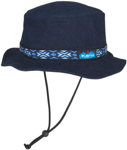 大学院ちょうつがい森(カブー)KAVU Strap Bucket Hat (Denim) 19810115 [メンズ]