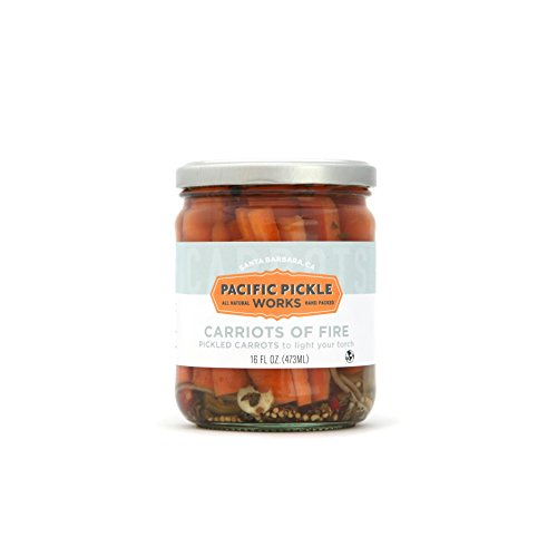 Carriots of Fire - Spicy pickled carrot sticks 16oz (2-pack) -