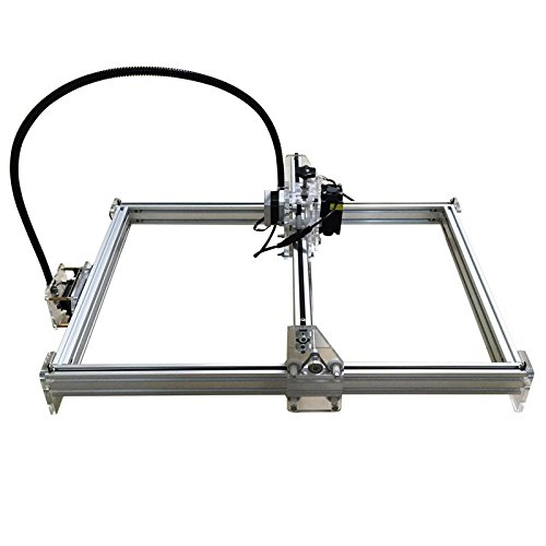 Zowaysoon 35X50cm 7W 7000mW DIY Mini Laser Engraving Machine Desktop Engraver Metal Iron Stell Stone Ceramic Laser Cutter Etcher Logo Photo Image Marking
