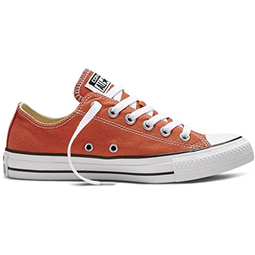 Converse Chuck Taylor all Star, Sneakers Unisex Adulto ORANGE WHITE