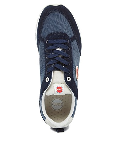 Yellow Colmar Giallo Colors Sneakers Travis Uomo Tessuto 006 Grey 2017 grigio Estate Navy pfApq6