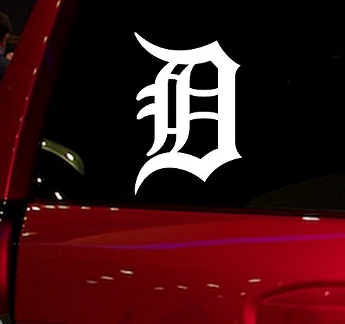 WALL BANNERS LLC | TIGERS | Vinyl Sticker Decal for Vehicle Cars Trucks Vans SUV Window Windshield Folder Walls (TIGERS)