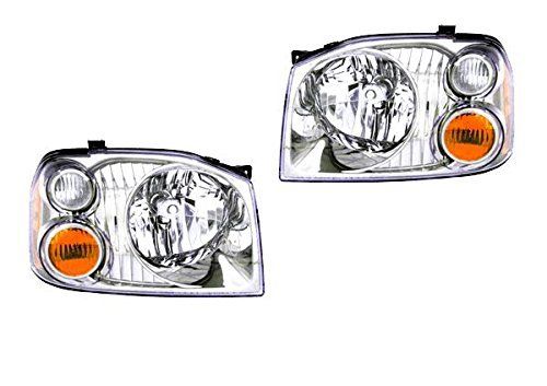 (Tiffin Allegro Bus 2004-2006 RV Motorhome Pair (Left & Right) Replacement Headlights Head Lights Front Lamps)