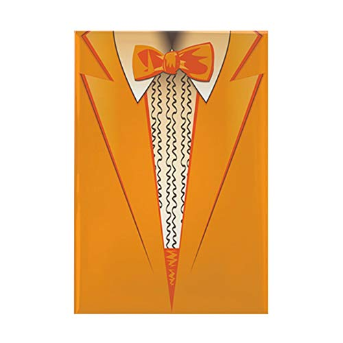 CafePress Orange Tuxedo Rectangle Magnet, 2