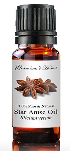 Grandma's Home Essential Oils - 100% Pure Therapeutic Grade (Anise Star, 10 mL)