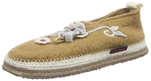 Giesswein Women's Tangerhuette Slippers Beige (Krokant)