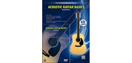 Alfred Ultimate Beginner Mega Pak Acoustic Guitar Basics (Rev. Ed.) Book, CD & DVD ()