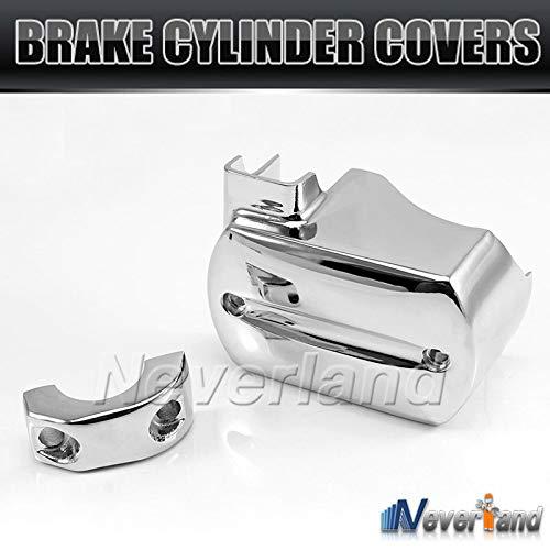 (BranXin - Chrome Brake Master Cylinder Cover For Yamaha V-Star XVS 650 1100 1999-2007 Reservoir D05)