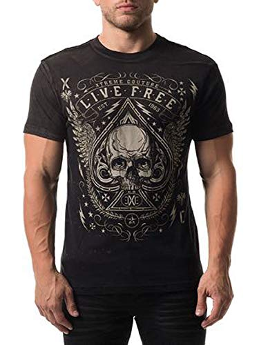 - Xtreme Couture Men's Deuces Wild Tee Shirt Black Large