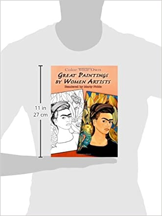 cheap color your own great paintings by women artists dover art