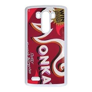 LG G3 Phone Case White Willy Wonka Golden Ticket Chocolate Bar ES7TY7891049
