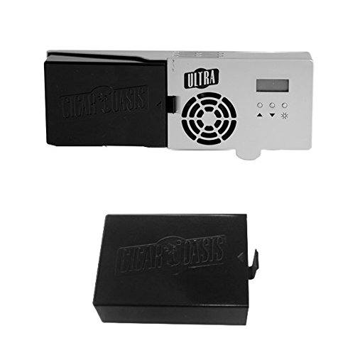 (Cigar Oasis Ultra 2.0 Electronic Cigar Humidifier w/ Refill Cartridge )