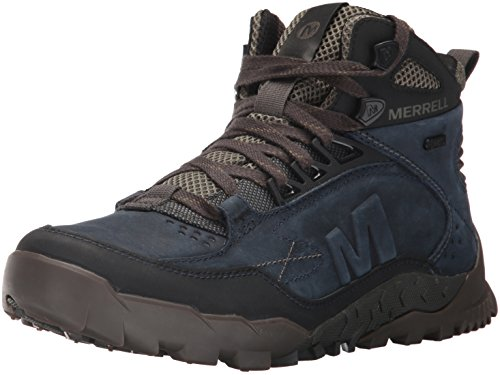 Image of the Merrell Men's Annex Trak Mid Waterproof Hiking Boot, Sodalite, 10 M US