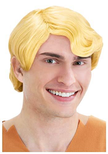 Deluxe BAMM BAMM Short Styled Blonde Flintstones Wig Standard