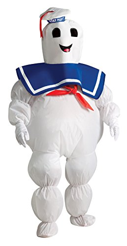 Stay Puft Marshmallow Infant Costume (UHC Boy's Ghostbusters Stay Puft Fancy Dress Child Outfit Halloween Costume, Child M (8-10))