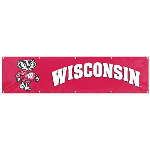 (Wisconsin Badgers Official NCAA 8' Tailgate Banner)