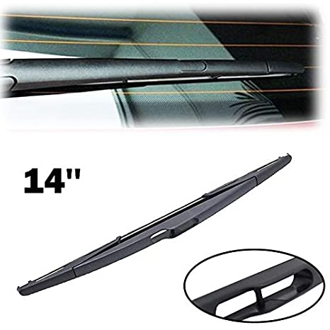 Xukey - Escobilla limpiaparabrisas trasera para Scudo Stilo Ulysse Edge Clio Scenic XC60 XC90 106 206