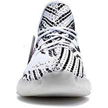 350 V2 Sneakers Destroyer Sneakers Lifting Size 12 Women's Sneakers Yeezy Men's Sneakers leeng Sneakers Enhancement Boost 350 Free Waterproof Bags (US_7/EUR_40/cm_25, White Black Red)
