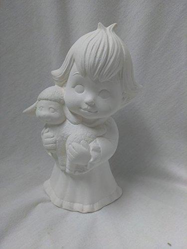 Sweet Tot Child holding Lamb 7 1/2