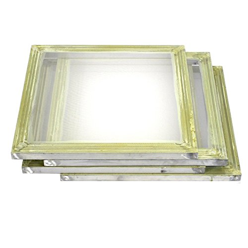 4 Pack Aluminum Silk Screen Printing Press Screens 156 Frame Mesh 20'' X 20'' by Commercial Bargains
