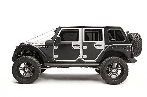 Fab Fours JK30001 Door Skin - Fab Fours Jeep