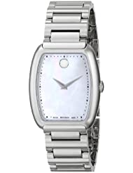 Movado Womens 0606547 Concerto Stainless Steel Bracelet Watch