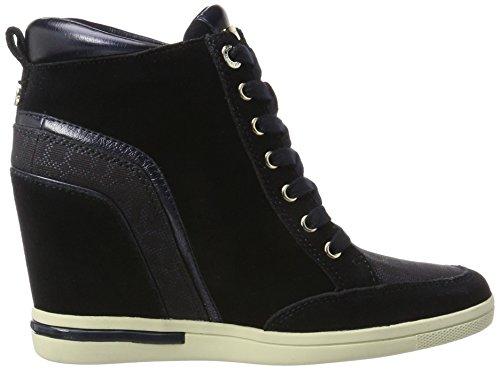 Tommy Hilfiger S1285ebille 3c2, Zapatillas para Mujer Azul (Midnight)