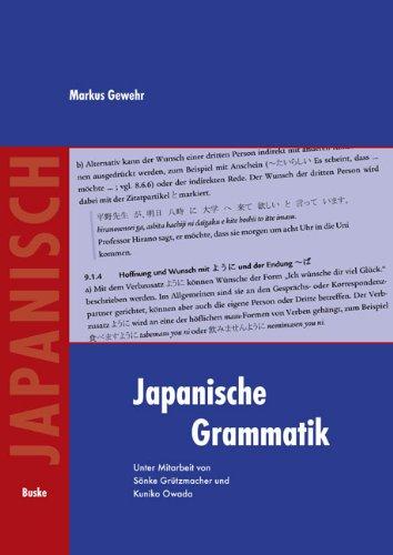 Japanische Grammatik