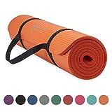 Best Yoga Mats - Gaiam Essentials Yoga Fitness & Exercise Mat, Orange Review