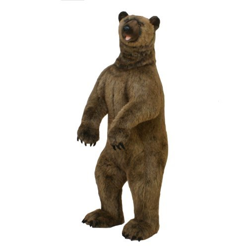 Hansa Plush - 60 Grizzly Bear by Hansa