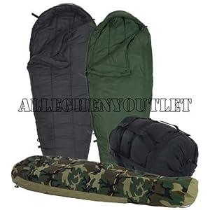 Us Military 4 Piece Modular Sleeping Bag Sleep System W/gortex Bivy - Excellent