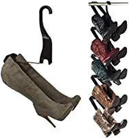 Boot Butler Boot Storage Rack As Seen On Rachael Ray – Clean Up Your Floor with Hanging Boot Storage – Easy to Assemble &...
