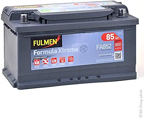 FULMEN Batterie de démarrage 100ah 900A pour VOLKSWAGEN