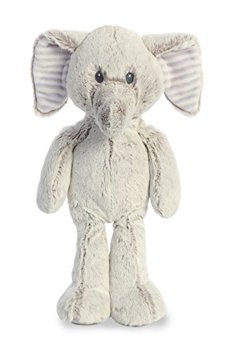 Two Tone Elephant Design - Aurora World Cuddler Plush Animal, Gray