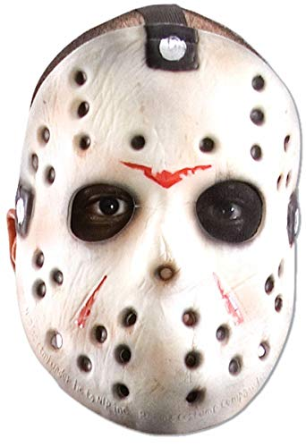 Jason Voorhees EVA Hockey Mask White/Red/Black ()
