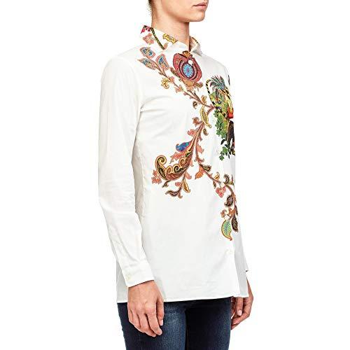 Blanc 134259067990 Etro Femme Chemise Coton qE0wXE7Bx