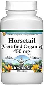 Horsetail (Shavegrass Silica) (Certified Organic) - 450 mg (100 capsules, ZIN: 518602)