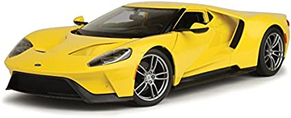Ford Gt 2017 Yellow 1:18 Model 31384Y MAISTO