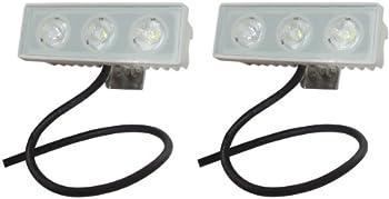 2-Pack Shoreline Marine LED Spreader/Docking Light