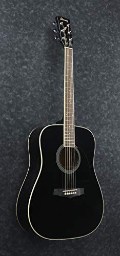 Ibanez-PF15-BK-Acoustic-Guitar-Black