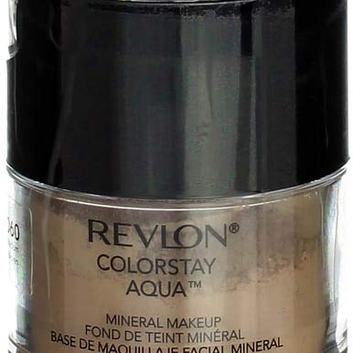 Mineral Revlon Powder - Revlon Colorstay Aqua Medium Mineral Makeup -- 2 per case.