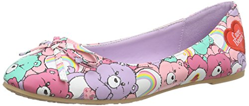 Iron Fist Women's Grin & Bear It Multi Color Flat Shoes