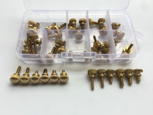 brass screws round head - 8