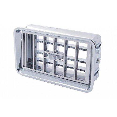United Pacific Freightliner FLD Classic Heater A/C Vent/Chrome Plastic Dash Vent Grill