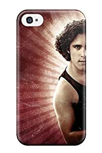 Tpu Fashionable Design Rock Of Ages Rugged Case Cover For Iphone 4/4s New